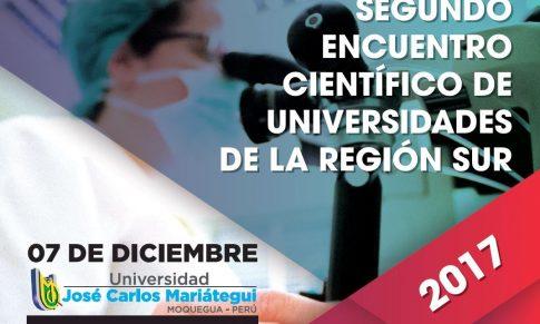 II ENCUENTRO CIENTÍFICO DE UNIVERSIDADES DE LA REGIÓN SUR – 2017