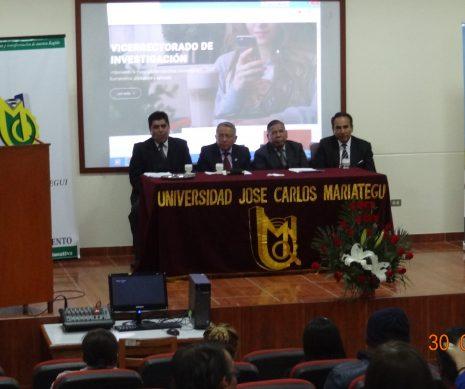 Ceremonia de premiación del I Congreso Internacional Ciencia, Desarrollo e Innovación 2018