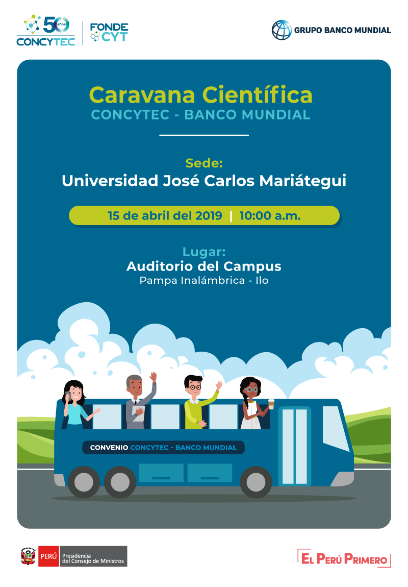 CARAVANA CIENTÍFICA CONCYTEC 2019 -VISITA REGIONES